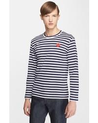 футболка с длинным рукавом в горизонтальную полоску original 9728122