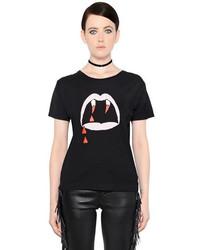 футболка с круглым вырезом с принтом original 4110611