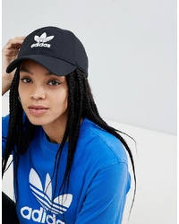 Женская черная бейсболка от adidas Originals