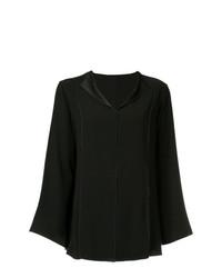 Черная блузка с длинным рукавом от ASTRAET