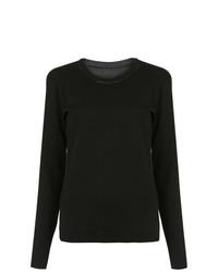 Черная блузка с длинным рукавом от Uma Raquel Davidowicz
