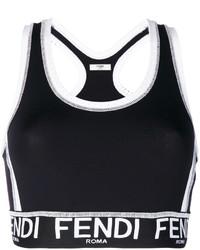 Черная блузка от Fendi
