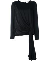 Черная блузка от Lanvin