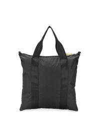 Мужская черная большая сумка из плотной ткани от Bellerose