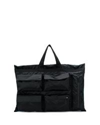 Мужская черная большая сумка из плотной ткани от Eastpak