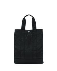 Мужская черная большая сумка из плотной ткани от Porter