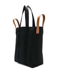 Мужская черная большая сумка из плотной ткани от Marni