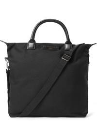 Мужская черная большая сумка из плотной ткани от WANT Les Essentiels