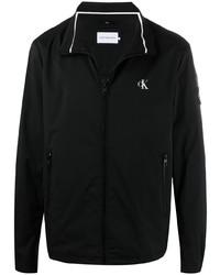 Мужская черная ветровка от Calvin Klein Jeans