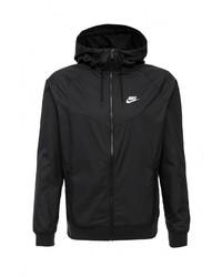 Мужская черная ветровка от Nike
