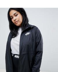 fbd7b0b1 Купить женскую черную ветровку Nike - модные модели ветровок ...