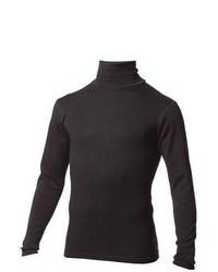 Мужская черная водолазка от Minus33