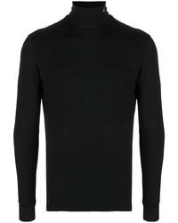 Мужская черная водолазка от Raf Simons
