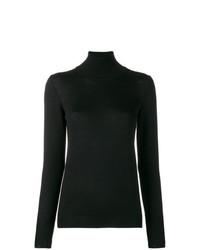 Женская черная водолазка от Stefano Mortari