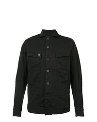 Мужская черная джинсовая куртка от 11 By Boris Bidjan Saberi