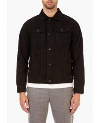 Мужская черная джинсовая куртка от Burton Menswear London