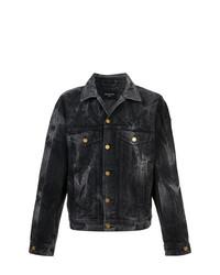 Мужская черная джинсовая куртка от Fear Of God