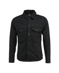 Мужская черная джинсовая куртка от G Star