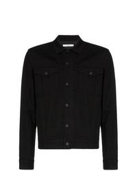 Мужская черная джинсовая куртка от Givenchy