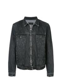 Мужская черная джинсовая куртка от RtA