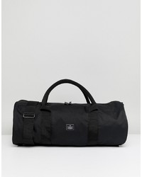 Мужская черная дорожная сумка из плотной ткани от ASOS DESIGN