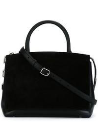 Женская черная замшевая большая сумка от Alexander Wang