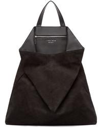 Женская черная замшевая большая сумка от Tsatsas