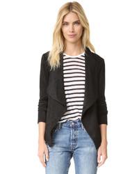 Женская черная замшевая куртка от BB Dakota