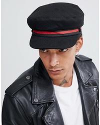 Мужская черная кепка от ASOS DESIGN