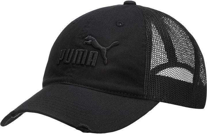 Женская черная кепка от Puma