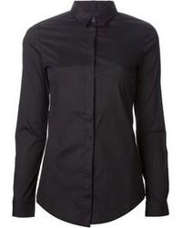черная классическая рубашка original 1278807