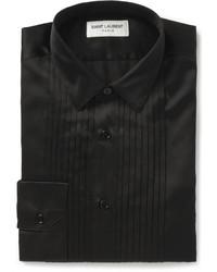 Черная классическая рубашка