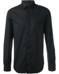Мужская черная классическая рубашка от Diesel