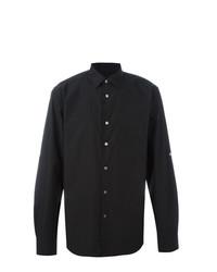 Мужская черная классическая рубашка от John Varvatos