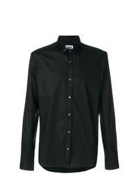 Мужская черная классическая рубашка от Les Hommes Urban
