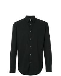 Мужская черная классическая рубашка от Maison Margiela