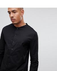 Мужская черная классическая рубашка от Religion