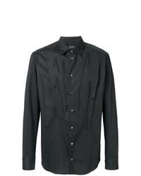 Мужская черная классическая рубашка от Tom Rebl