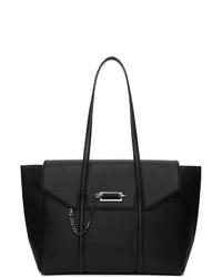 Черная кожаная большая сумка от Mackage