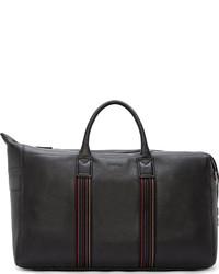 Мужская черная кожаная дорожная сумка от Paul Smith