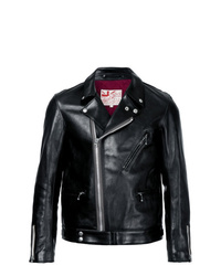 Мужская черная кожаная косуха от Addict Clothes Japan
