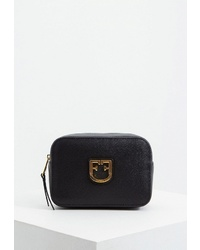 Черная кожаная поясная сумка от Furla