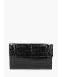 Черная кожаная поясная сумка от Mango