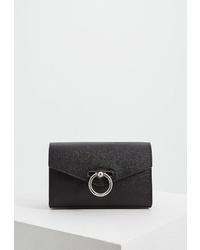 Черная кожаная поясная сумка от Rebecca Minkoff