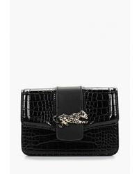 Черная кожаная поясная сумка от Topshop
