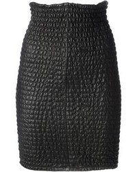 Женская юбка стеганая