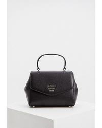 Черная кожаная сумка-саквояж от DKNY