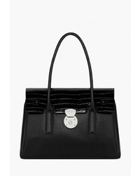 Черная кожаная сумка-саквояж от Fiorelli