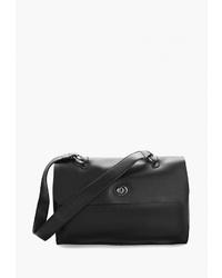 Черная кожаная сумка-саквояж от Jane's Story