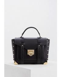 Черная кожаная сумка-саквояж от MICHAEL Michael Kors
